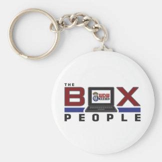 Box People Keychain