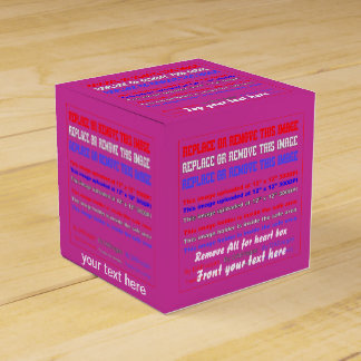 Box Template Over 37 Color Back View About Design Wedding Favor Boxes