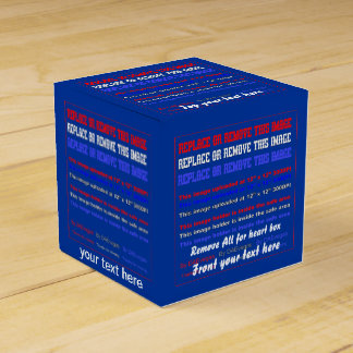 Box Template Over 37 Color Back View About Design Favor Box