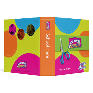 Box Tops for Education Binder
