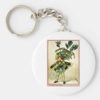 Box Tree Fairy Keychain