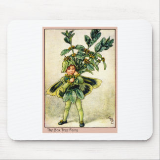 Box Tree Fairy Mouse Pad