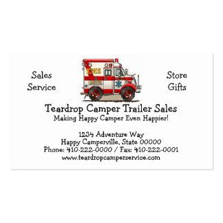 Box Truck Ambulance Business Card Template