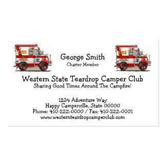 Box Truck Ambulance Business Card Templates