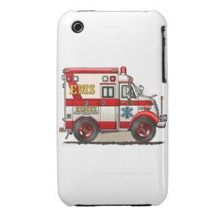 Box Truck Ambulance iPhone 3 Case-Mate Cases