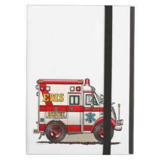 Box Truck Ambulance Case For iPad Air