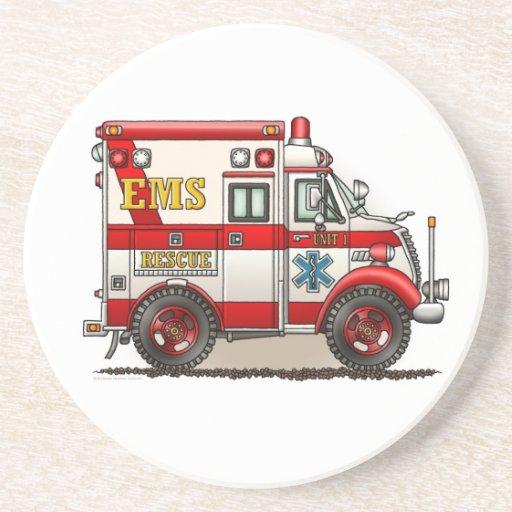 Box Truck Ambulance Coaster