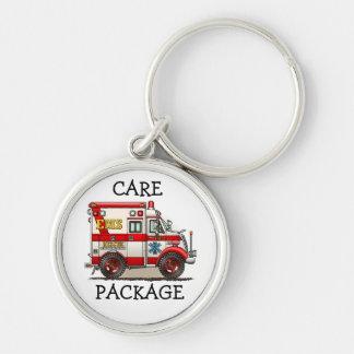 Box Truck Ambulance Key Chain