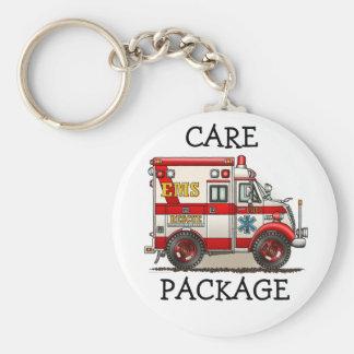 Box Truck Ambulance Keychain CP