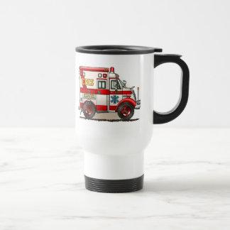 Box Truck Ambulance Travel Mug