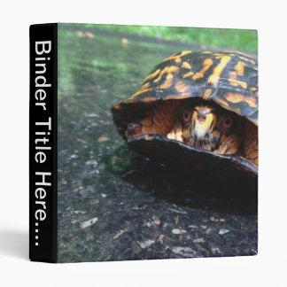 "Box Turtle - 1"" Binder"