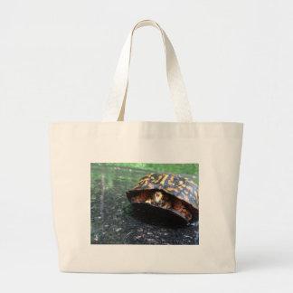 Box Turtle Canvas Bag