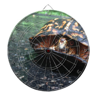 Box Turtle Dartboard With Darts