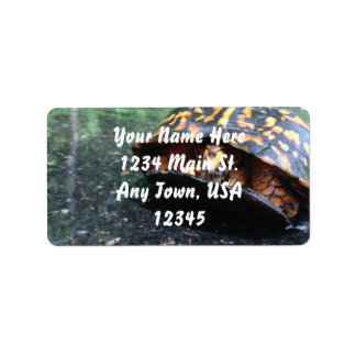 Box Turtle Label
