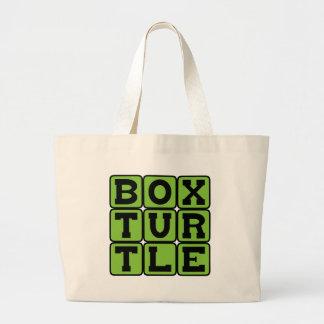 Box Turtle, Shelled Reptile Tote Bag