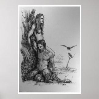 Box wild duck Embla Poster