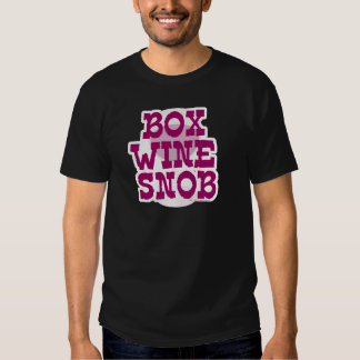 Box Wine Snob Shirt
