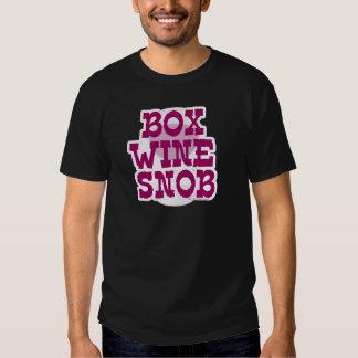Box Wine Snob T-Shirt