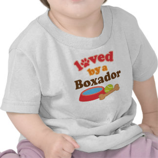 Boxador dog Lover womens pet t-shirt