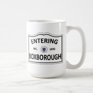 BOXBOROUGH MASSACHUSETTS Hometown Mass MA Townie Coffee Mug