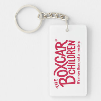 Boxcar Children Official Logo with Tagline Keychain