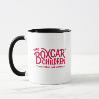 Boxcar Children Official Logo with Tagline Mug
