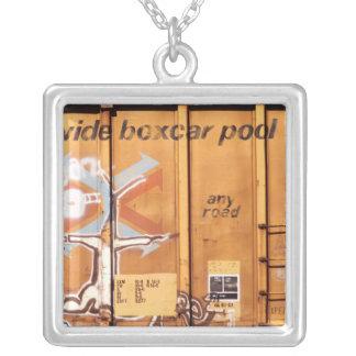 Boxcar Necklace