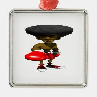 Boxeador 2 ornamentos para reyes magos