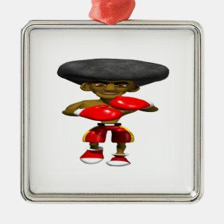 Boxeador 3 ornamentos de reyes