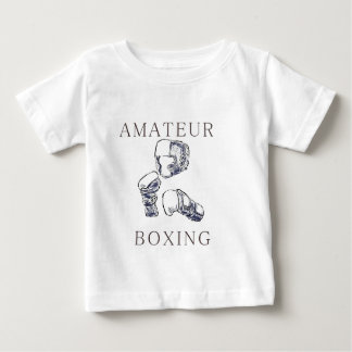 Boxeador aficionado remeras