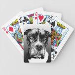 boxeador baraja de cartas