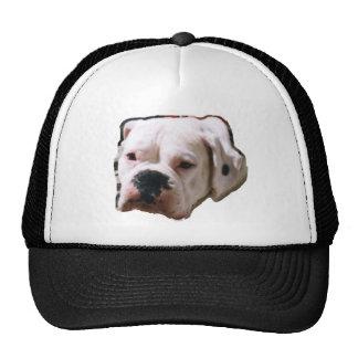 Boxeador blanco gorra