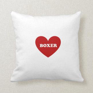 Boxeador Cojín