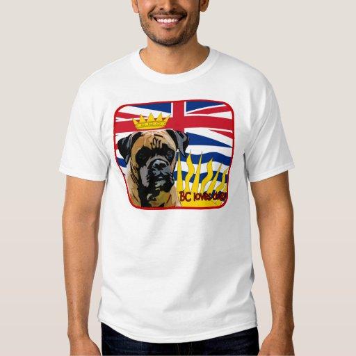 Boxeador de la Columbia Británica Camisas