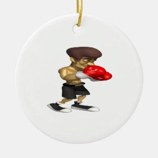 Boxeador Ornamentos Para Reyes Magos