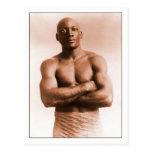 Boxeador del americano de Jack Johnson Tarjetas Postales