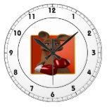 Boxeador del canguro reloj