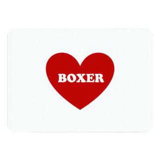 """Boxeador Invitación 5"""" X 7"""""""