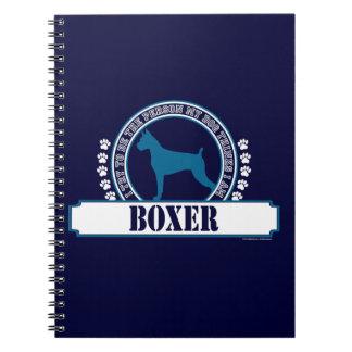 Boxeador Libretas Espirales