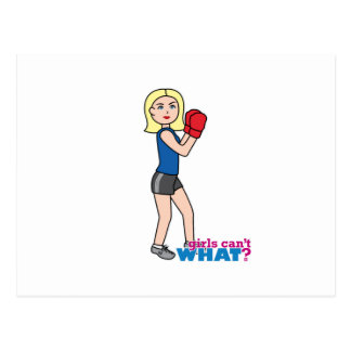 Boxeador - luz/Blonde Postales