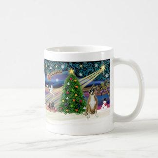 Boxeador mágico 1cr del navidad - taza de café