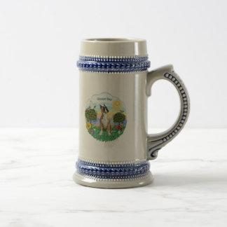 Boxeador (oídos cosechados) jarra de cerveza