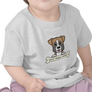 Boxeador personalizado camisetas