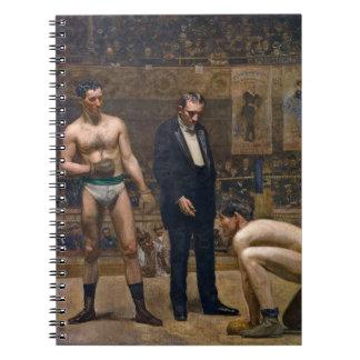 Boxeadores 1898 libreta espiral