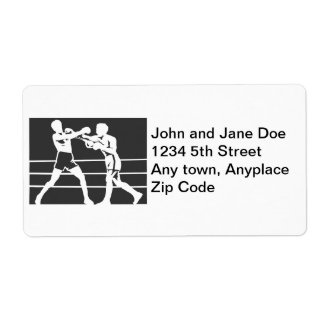 Boxeadores Etiquetas De Envío