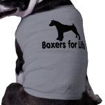 Boxeadores lindos y adorables para la ropa del mas camisetas de perrito