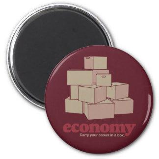 Boxed Economy 2 Inch Round Magnet