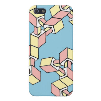 'Boxed Impossible Triangles' Iphone 5 Case