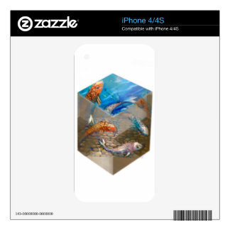 Boxed Koi Vinyl Device Protection Skin Skin For The iPhone 4