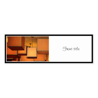 Boxed Lighting Double-Sided Mini Business Cards (Pack Of 20)